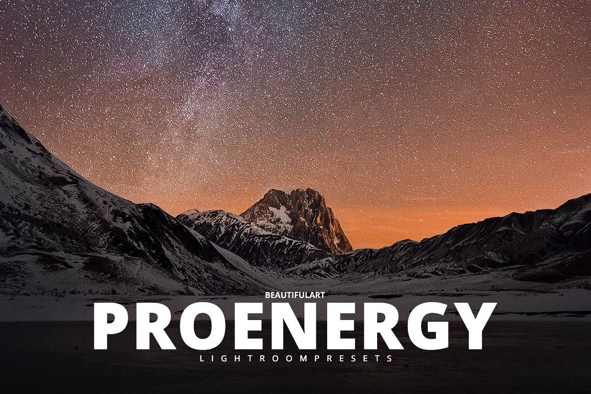 Pro ENERGY Lightroom Presets example image 1