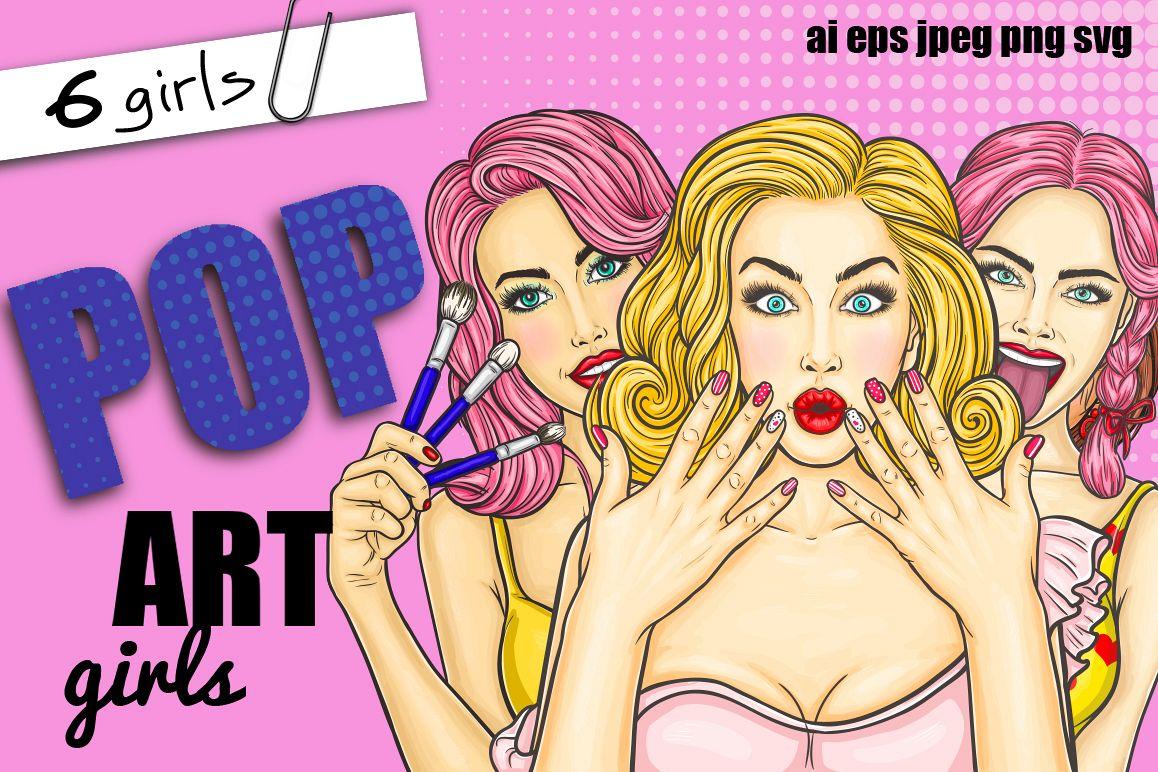 Pop-Art Girls example image 1