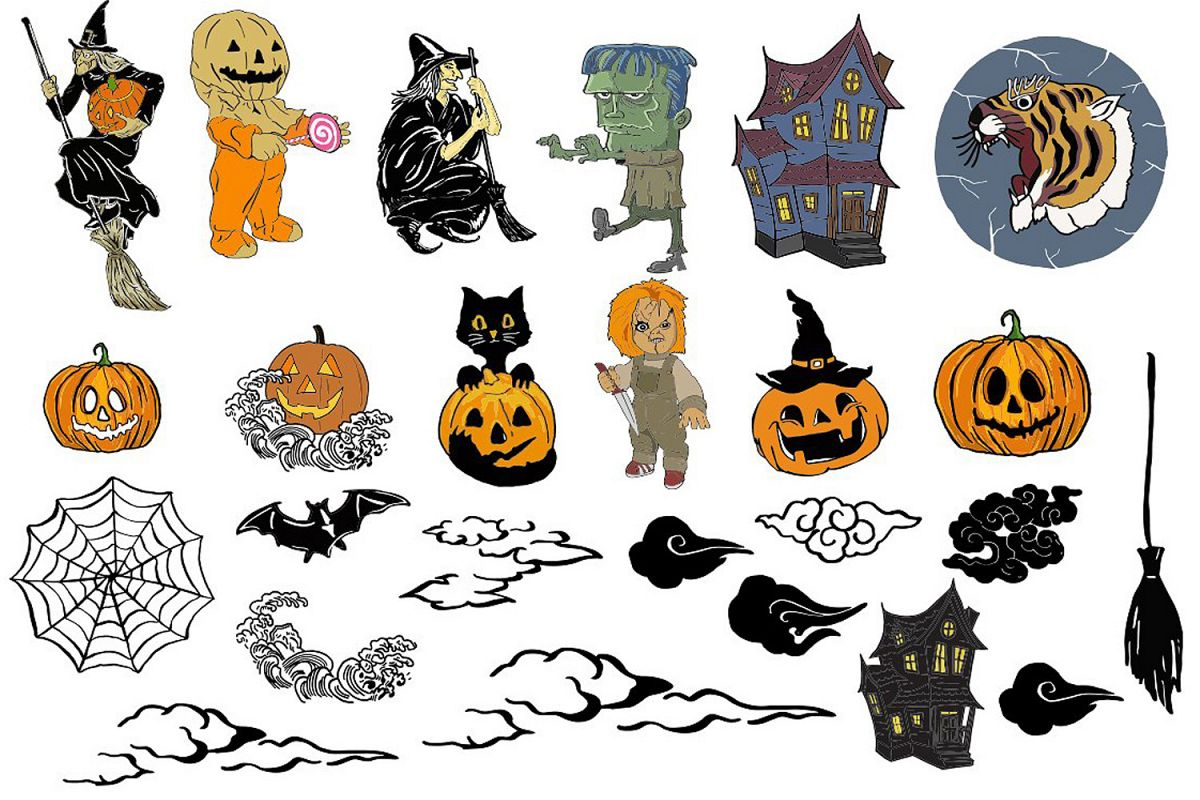 25 halloween pack example image 1