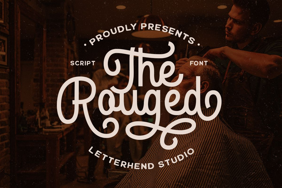 The Rouged - Display Script Font example image 1