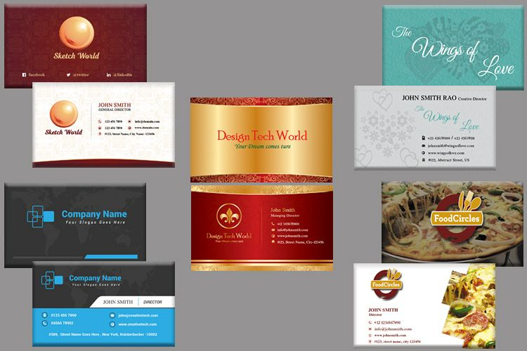 5 Business card bundle - Limited Period Offer example image 1
