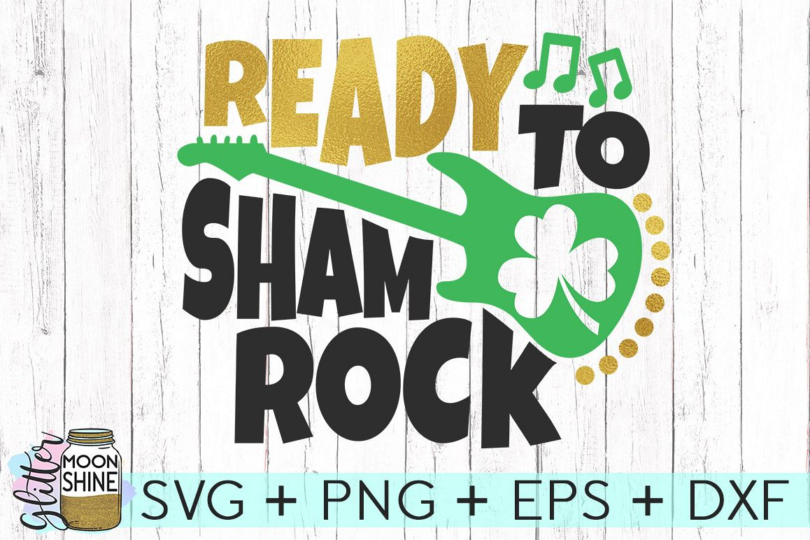 Ready To Shamrock SVG DXF PNG EPS Cutting Files example image 1
