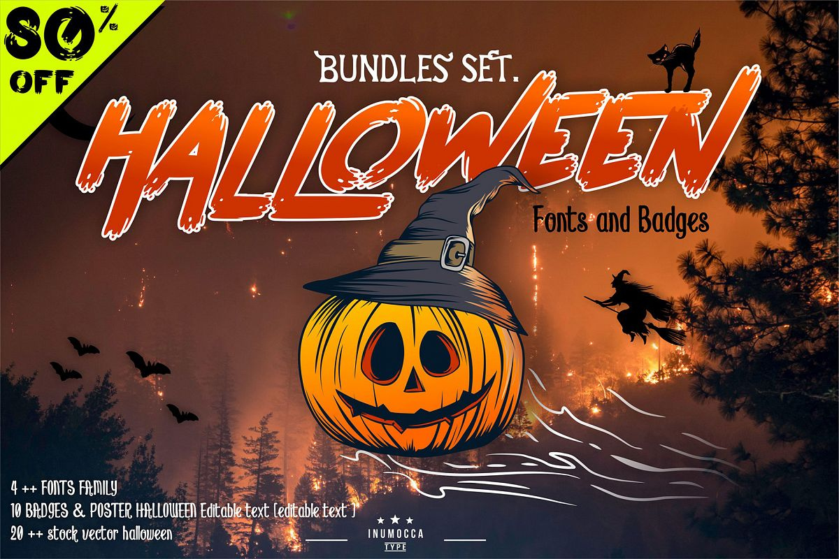 HALLOWEEN bundles SET example image 1