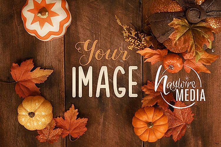 Halloween Background Tabletop Mock Up, JPG Mockup example image 1