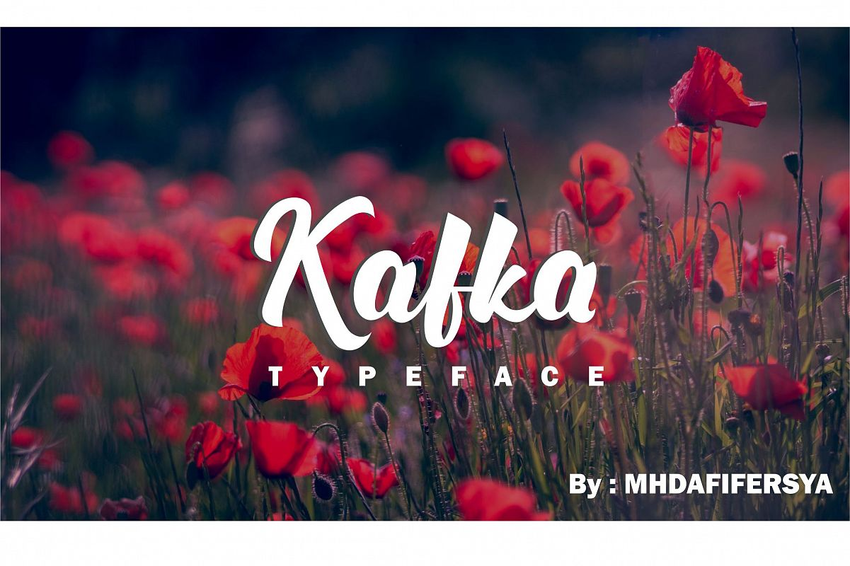 Kafka Typeface example image 1