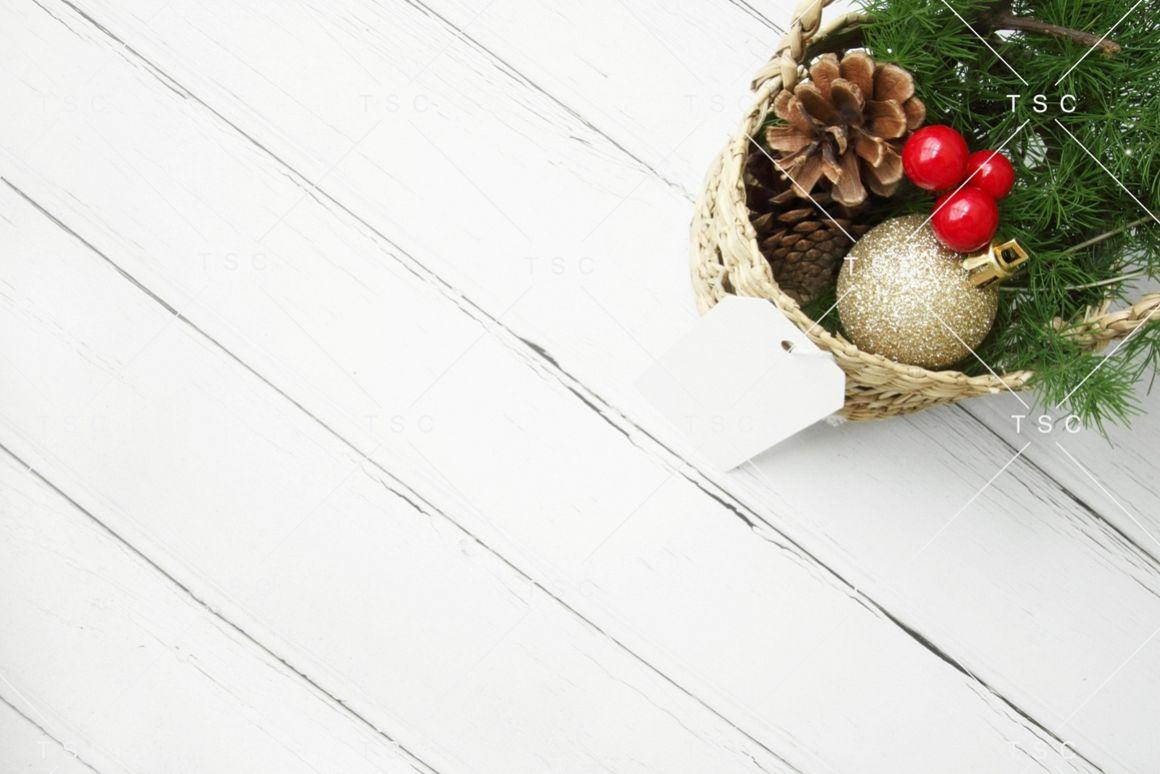 Christmas Stock Photo / Background Image / Gift Tag example image 1