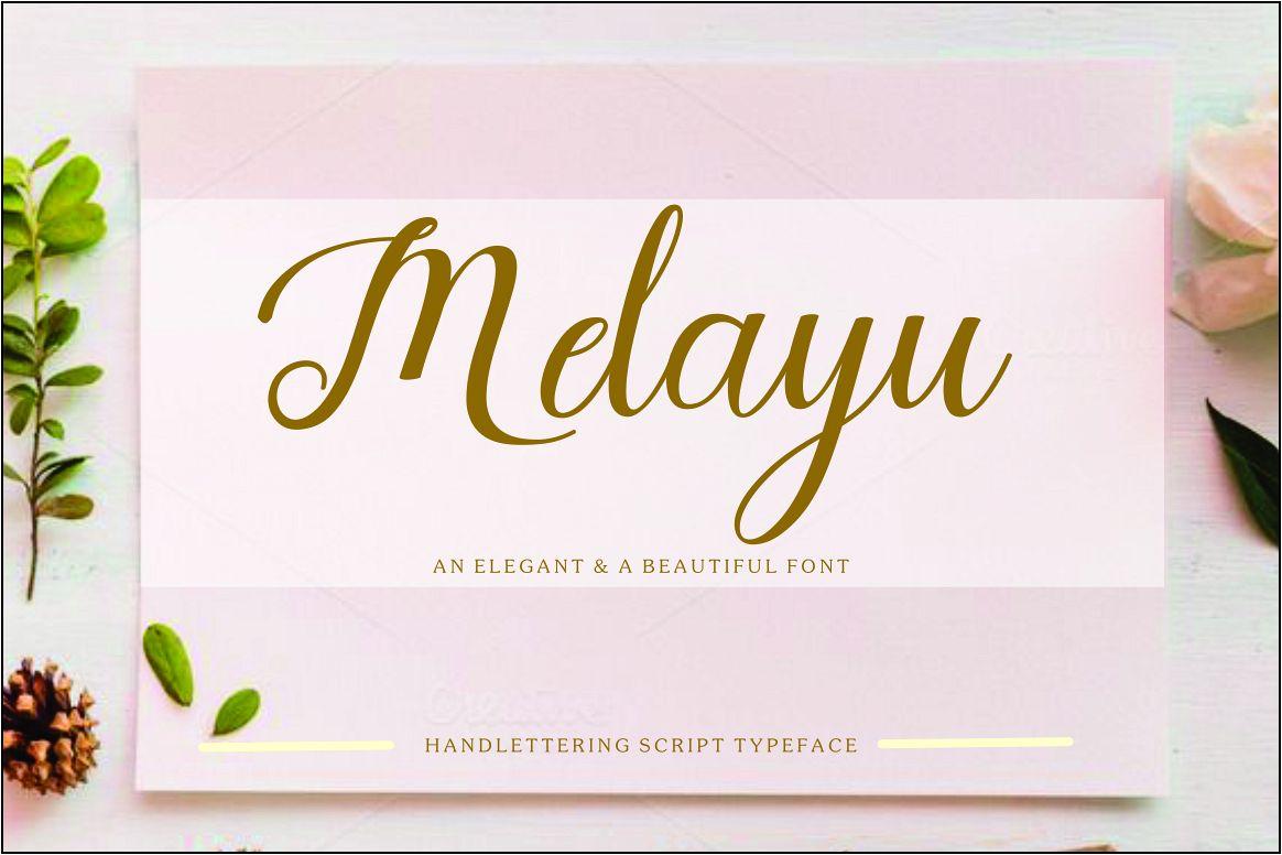 Melayu script example image 1