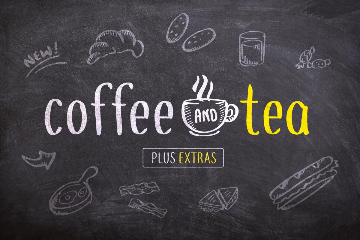 Coffee and Tea (+Bonus Sketches) example image 1