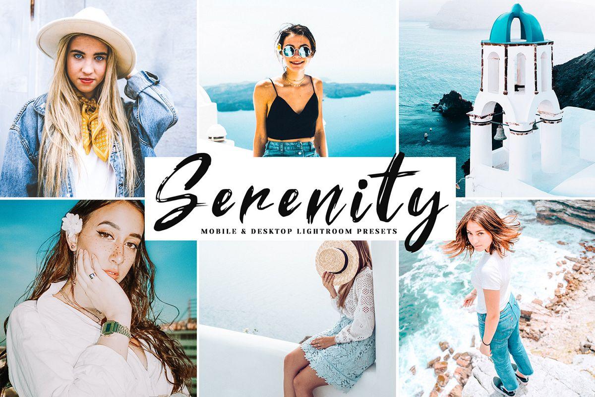 Serenity Mobile & Desktop Lightroom Presets example image 1