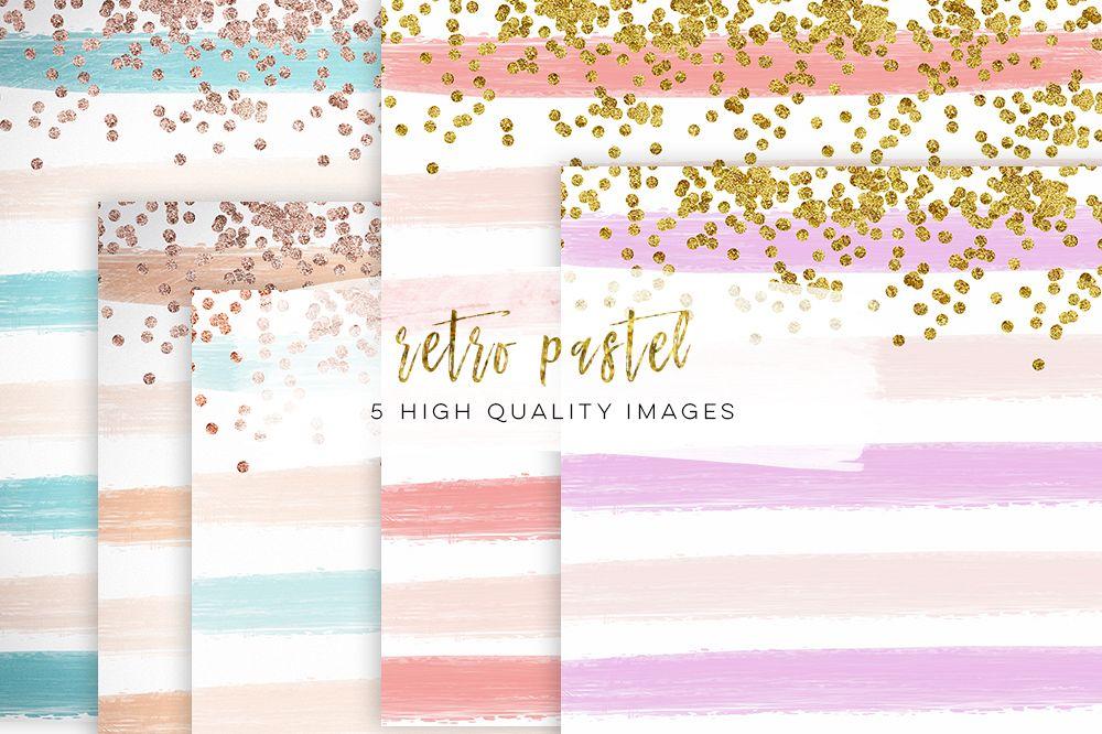 Stripe Digital Paper, pattern, stripe background, stripe printable, striped paper, vertical stripe download, digital lines example image 1