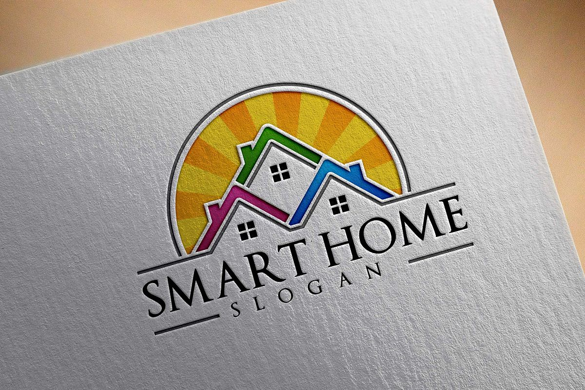Real estate logo design, home,house example image 1