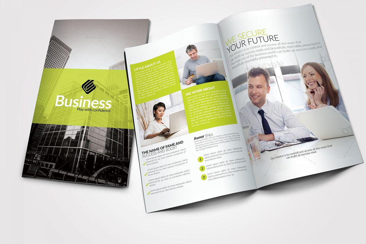Creative Bifold Business Brochure example image 1