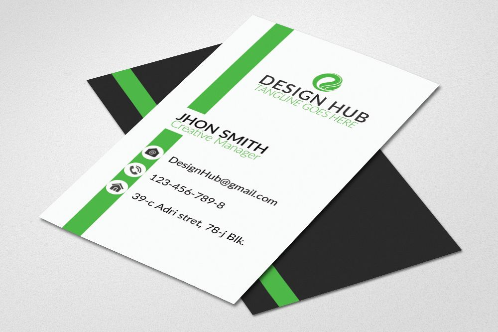 Business Card Template example image 1