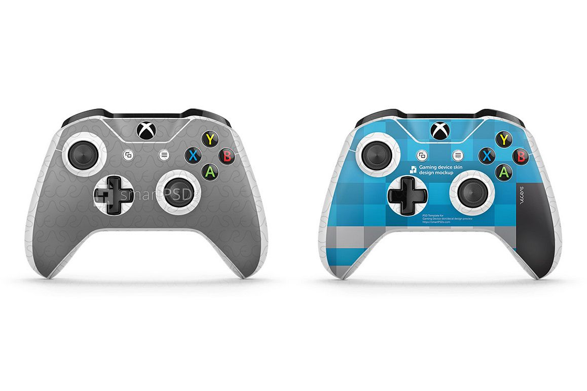 xbox one s controller skin design template 2 views