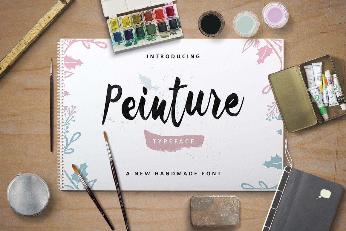 Peinture Typeface example image 1