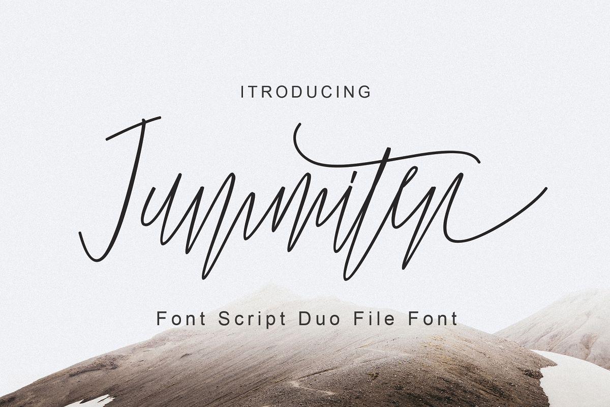 Jummiten Font Duo example image 1