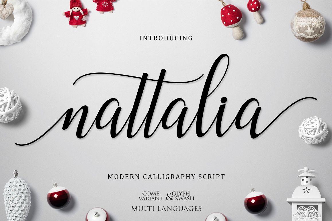 Nattalia Script example image 1