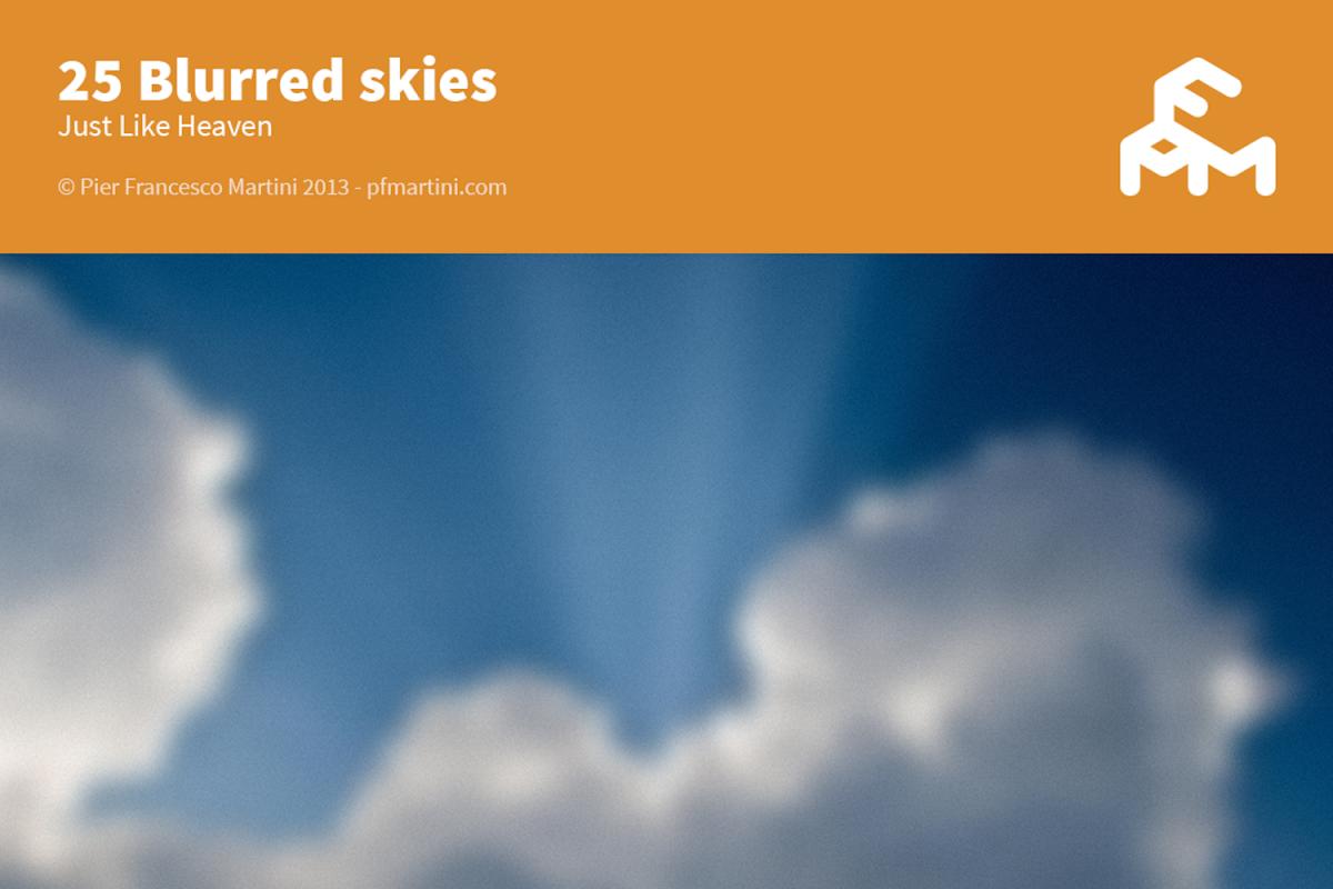 25 Blurred skies example image 1