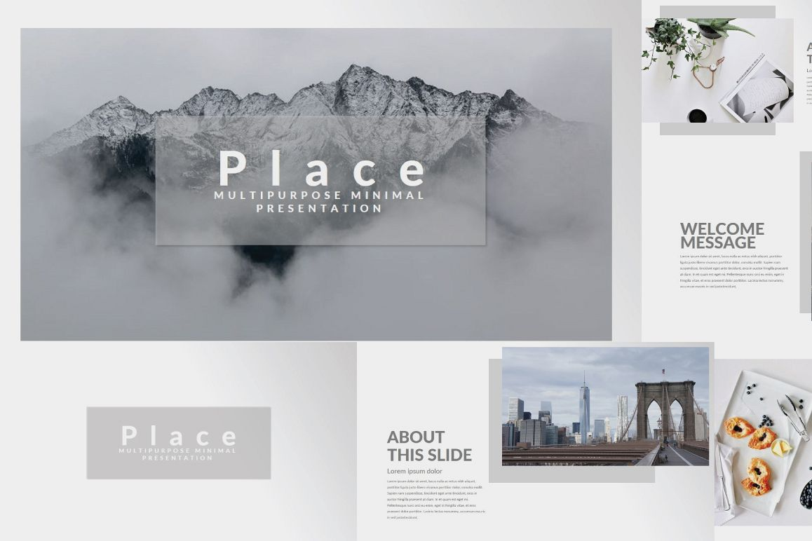 Place Keynote Template example image 1