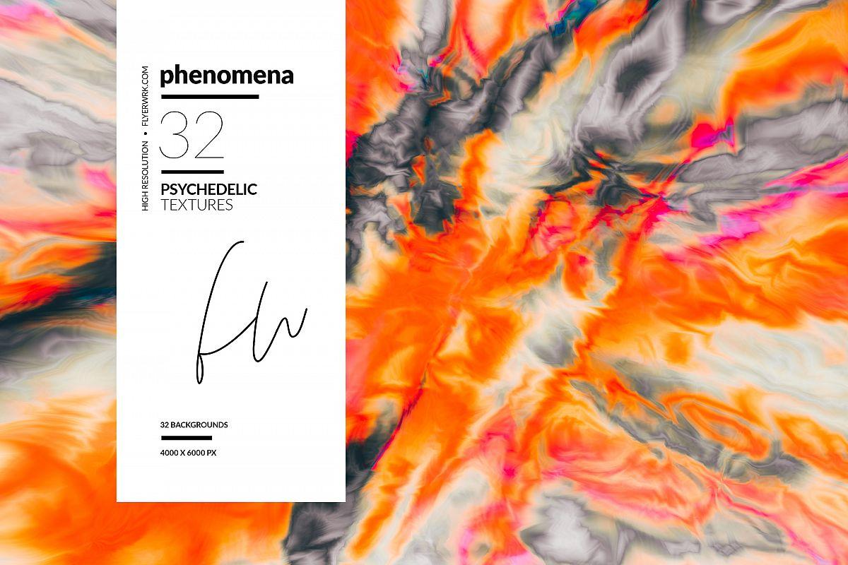 Phenomena - 32 Psychedelic Textures example image 1