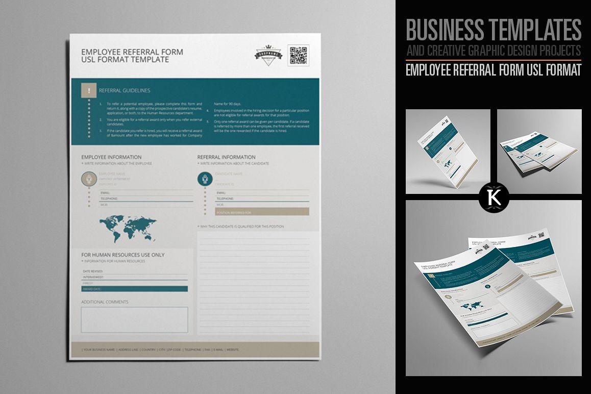 Employee Referral Form USL Format