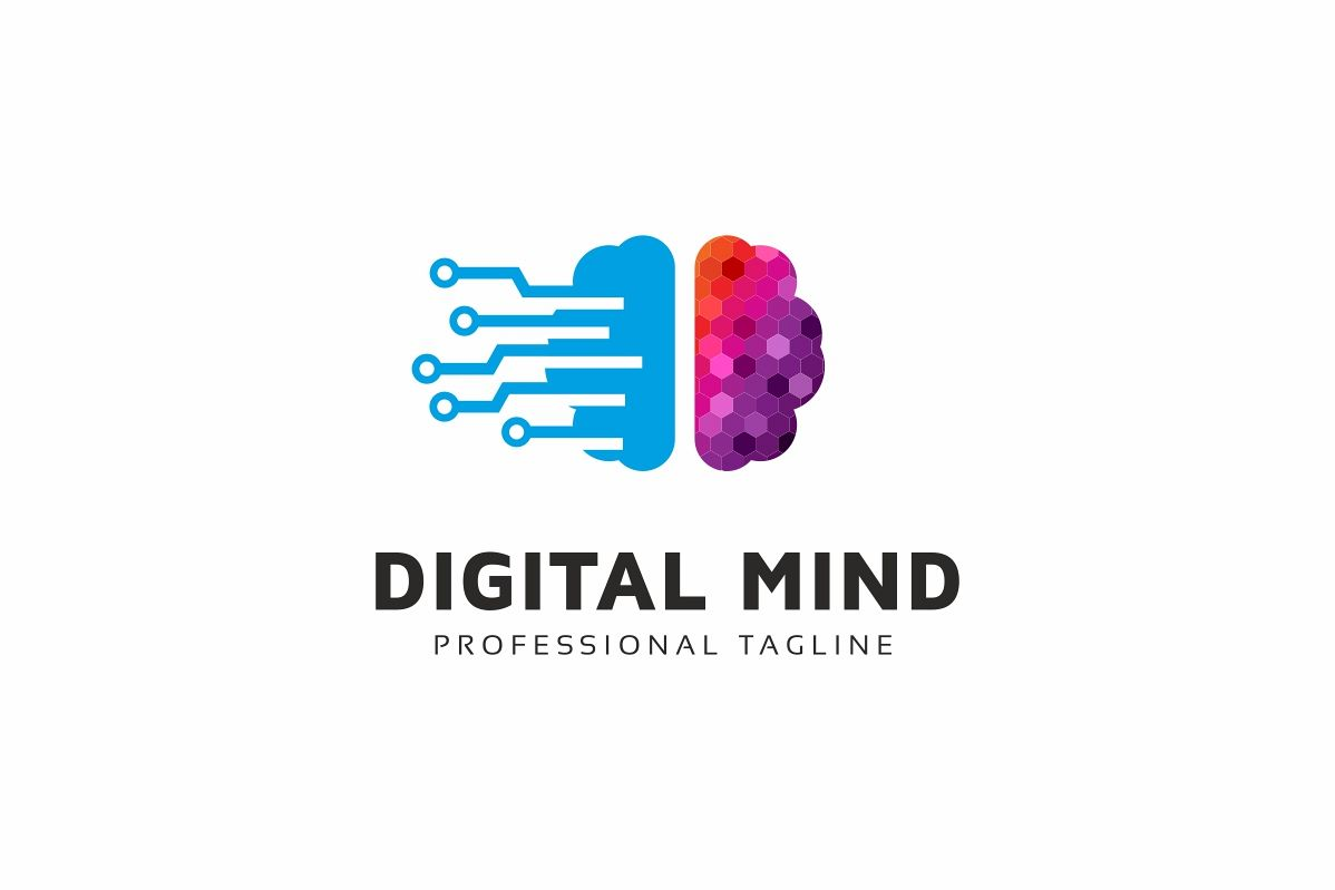 Digital Mind Logo example image 1