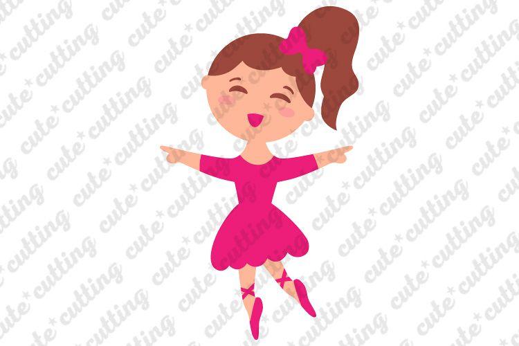 Ballerina svg, ballet dancer svg, dxf, png, pdf, jpeg example image 1