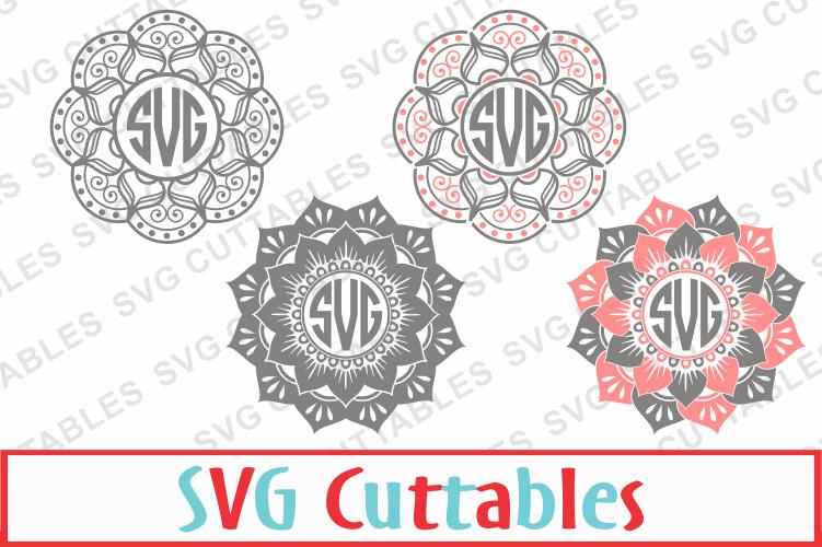 Mandala cut files example image 1