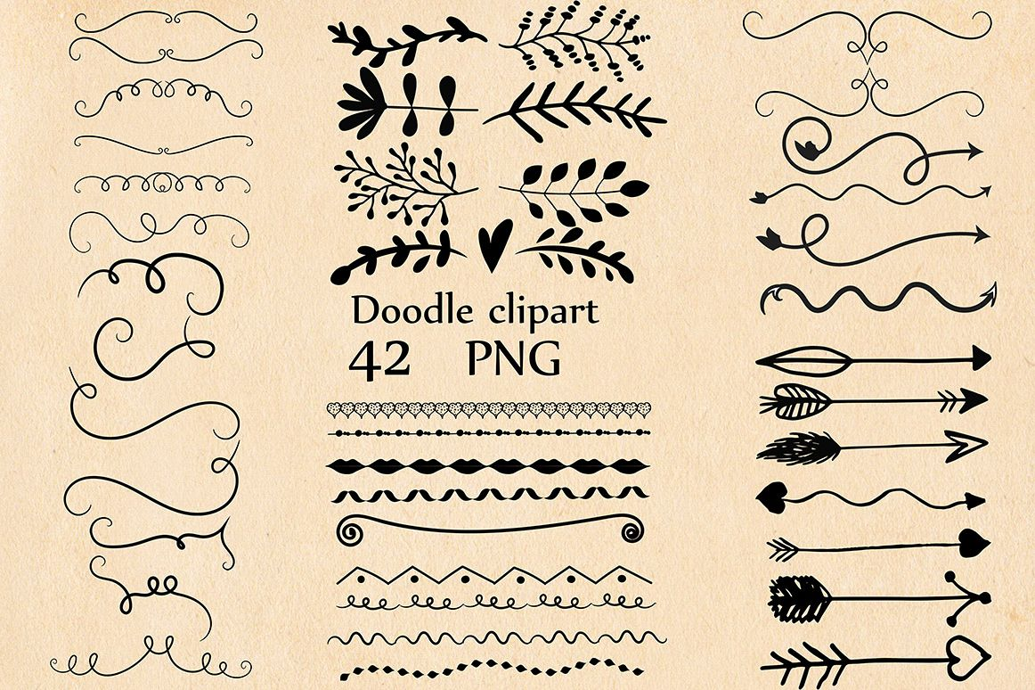 Doodle clipart example image 1