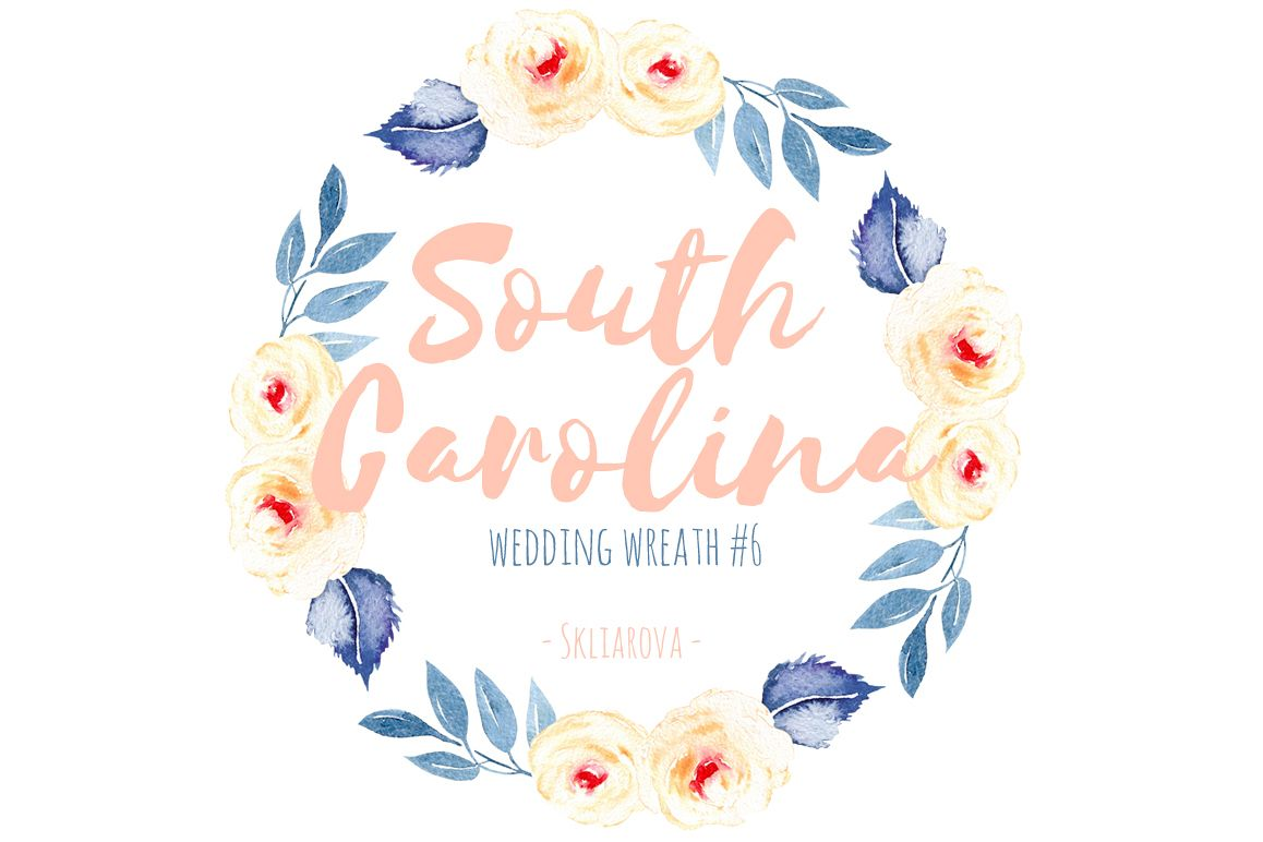 South Carolina. Wreath #6 example image 1