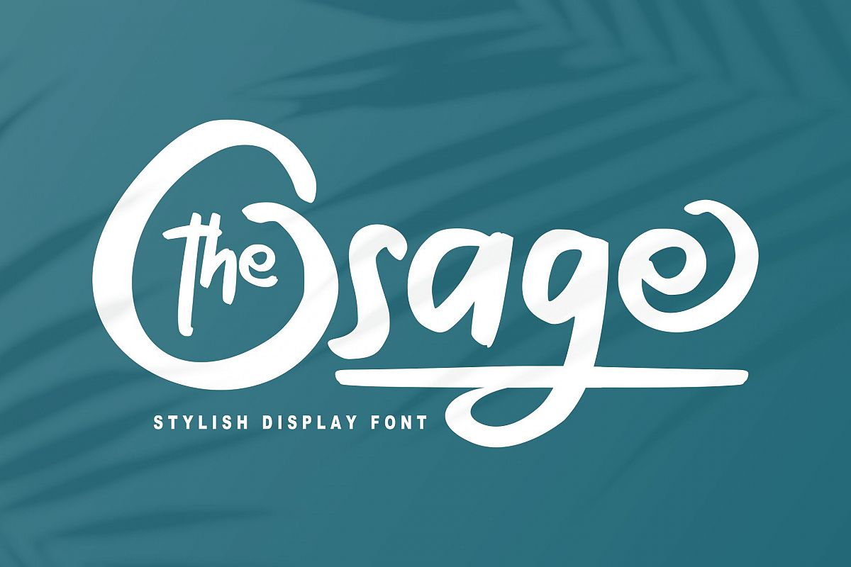 The Osage | Stylish Display Font example image 1