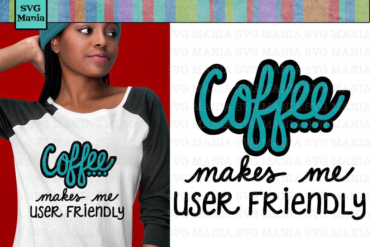 Funny Coffee Saying SVG File, Funny Coffee SVG, Coffee Quote example image 1