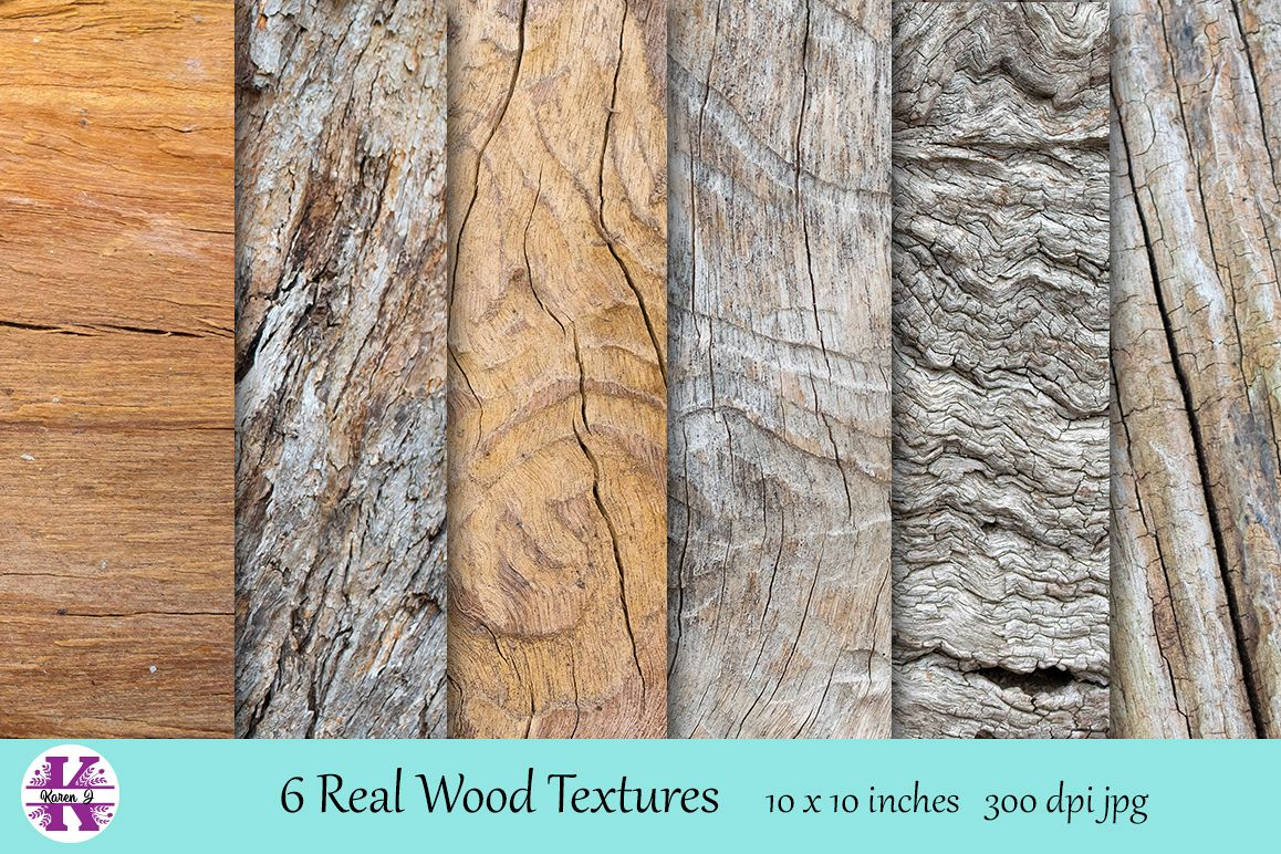 Real Wood Texture Bundle example image 1