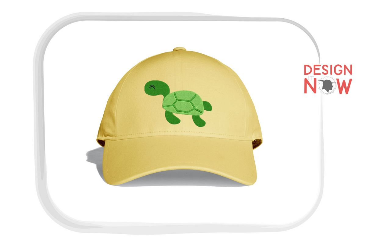 Turtle Embroidery Design, Turtle Embroidery Pattern, Sea example image 1