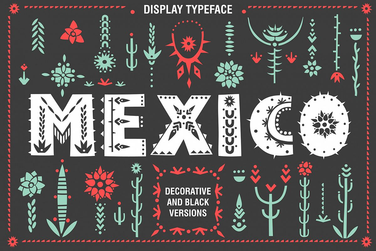 Mexico - Font Family example image 1
