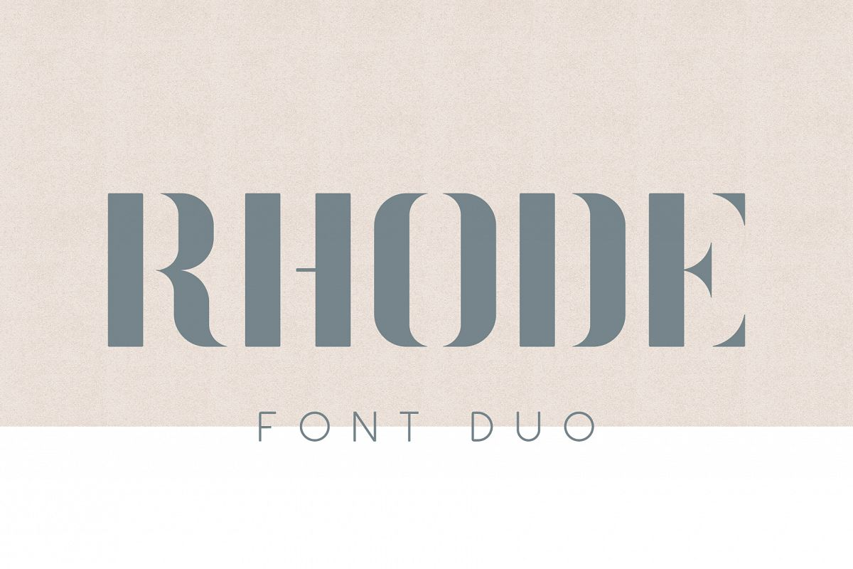 Rhode Font Duo example image 1