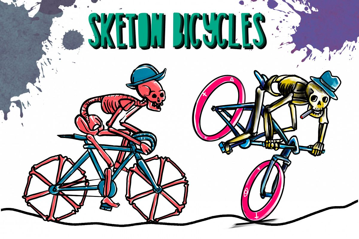 SKELETON BICYCLES example image 1