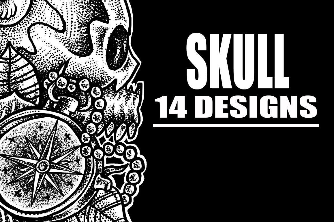 T-Shirt Designs Skull example image 1