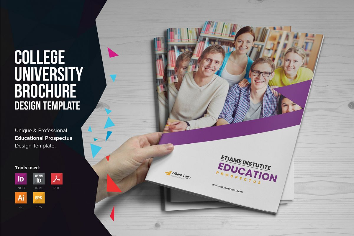 Education Prospectus Brochure v7 example image 1