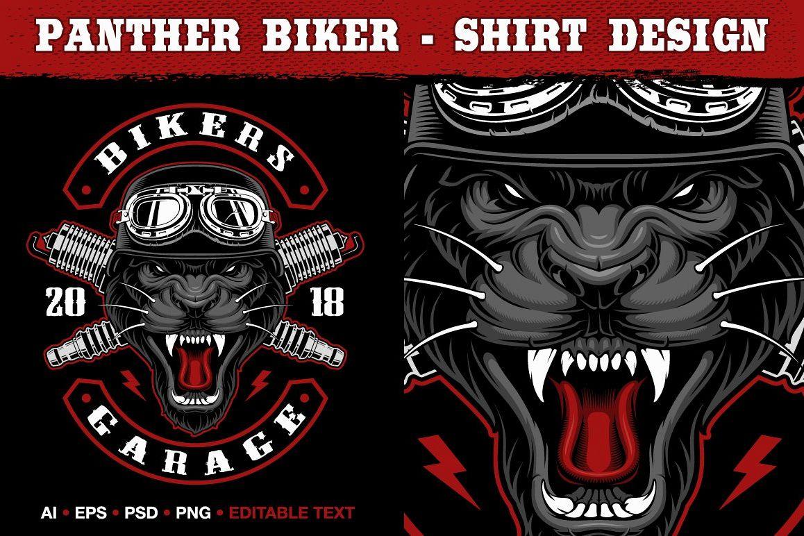 Panther Biker example image 1