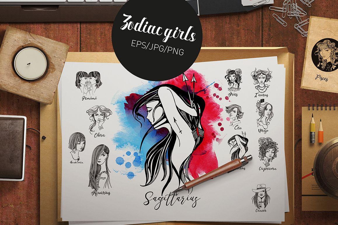 Zodiac girls example image 1