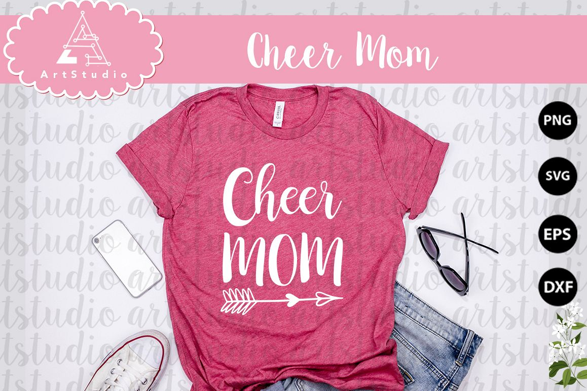 Cheer Mom INSTANT DOWNLOAD! example image 1