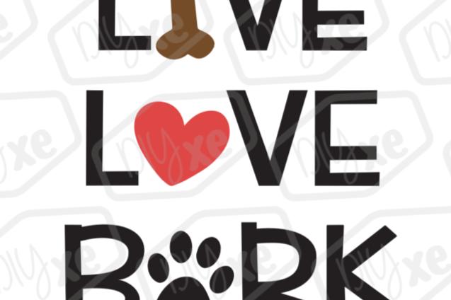 live love bark svg by diyxe design bundles