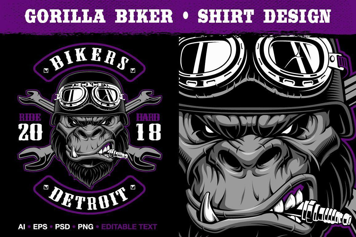 Gorilla Biker example image 1
