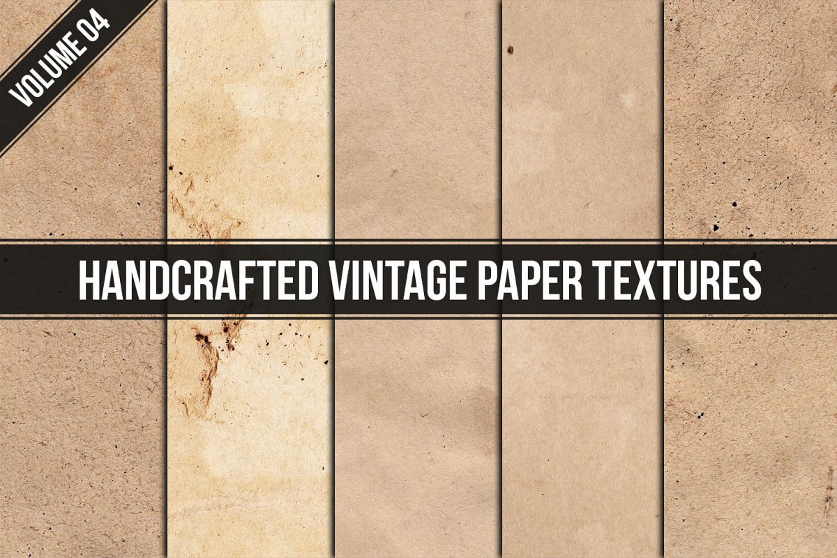 Handcrafted Vintage Paper Textures Vol. 04 example image 1