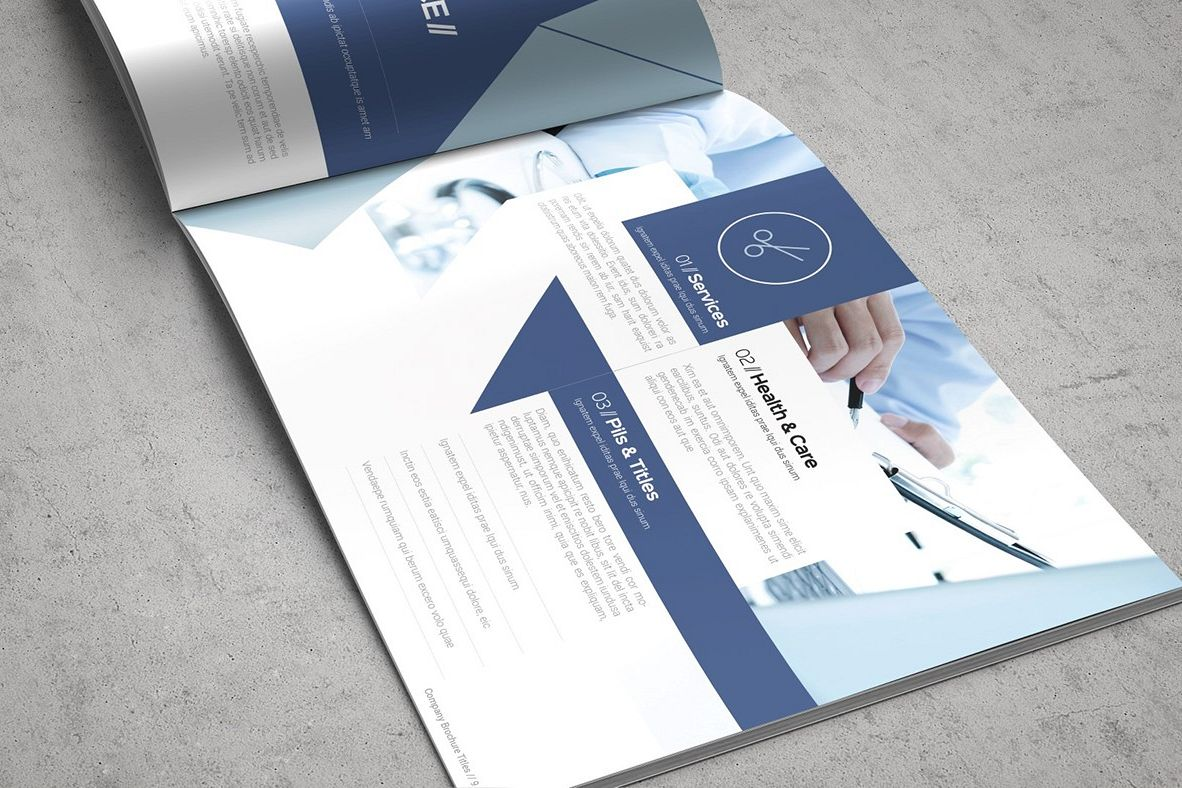 Health & Care Brochure Template example image 1
