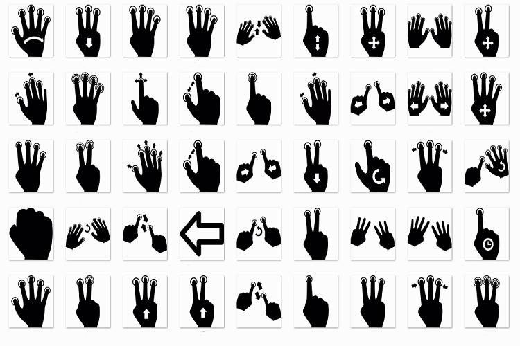 Gesture example image 1