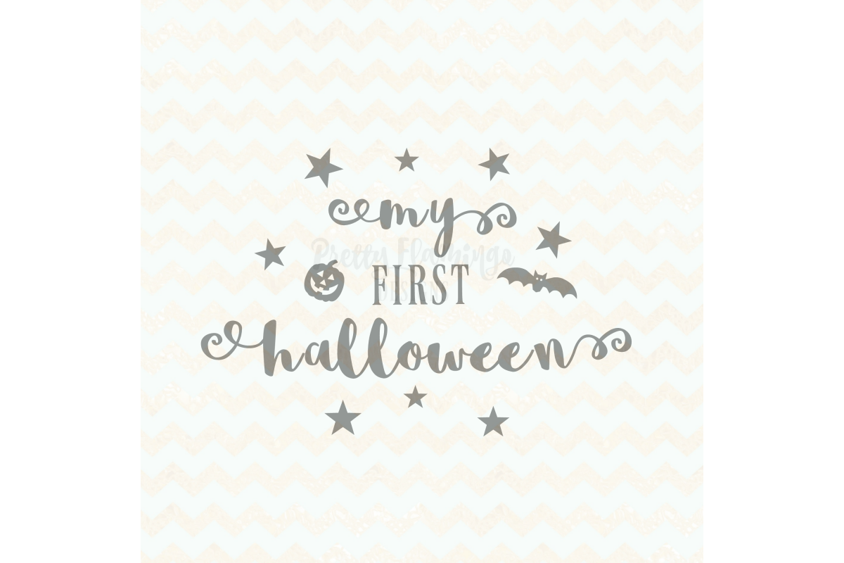 My First Halloween SVG example image 1