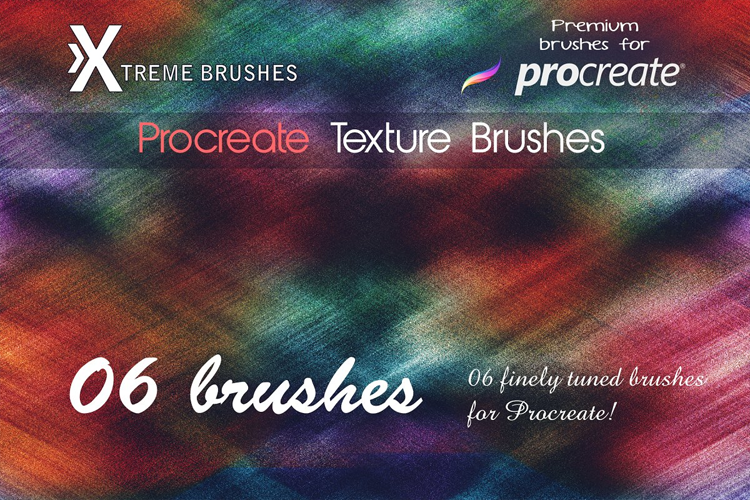 Procreate Texture Brushes example image 1