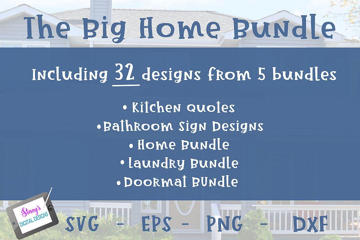 Big Home Bundle - 32 Designs from 5 Bundles example image 1